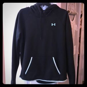 Under Armour black storm pullover. Large.